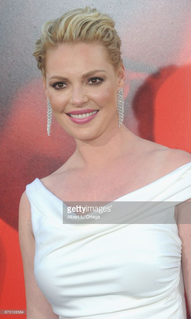Actress Katherine Heigl arrives for the Premiere Of Warner Bros. Pictures' 'Unforgettable' held at TCL Chinese Theatre on April 18, 2017 in Hollywood, California.