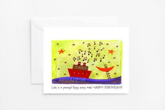 Printable Birthday Card Happy Birthday Card for Kids