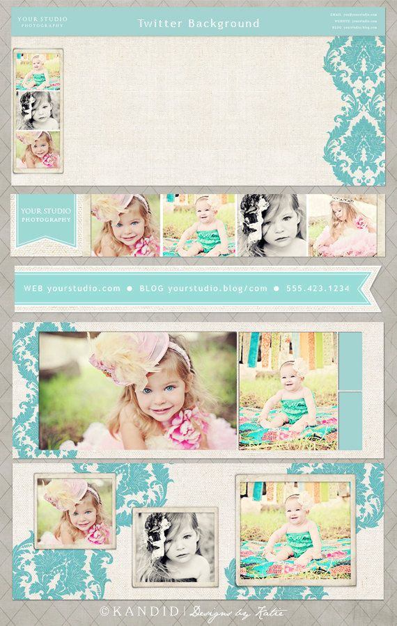 Nichole Social Media Bundle for Facebook, Twitter and Email. $20.00, via Etsy-  marketing & branding