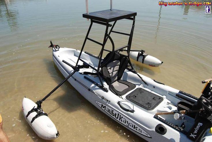 Kayak poling platform