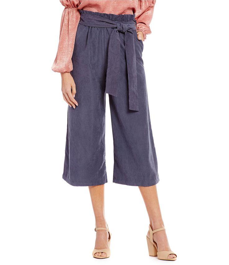 GB Paperbag Waist Pants #Dillards