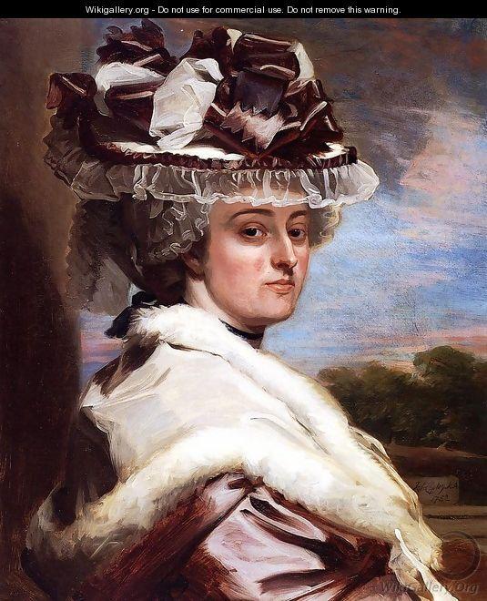 Portrait Of Letitia F Balfour - John Singleton Copley