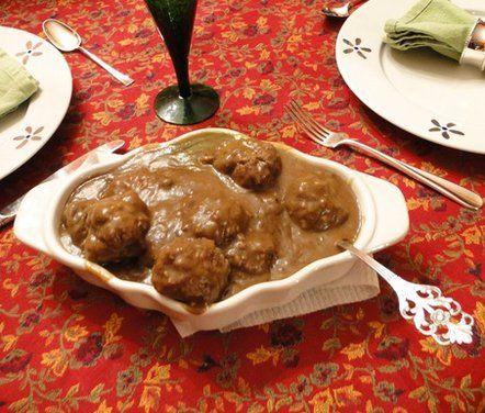 Mom's Norwegian Meatballs with Gravy (Kjøttkaker med brunsaus) recipe from Food52