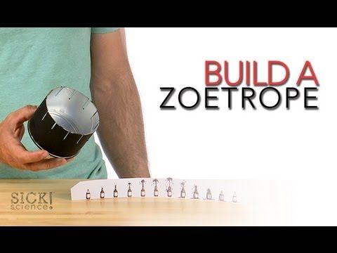 DIY: Build a Zoetrope [Sick Science]