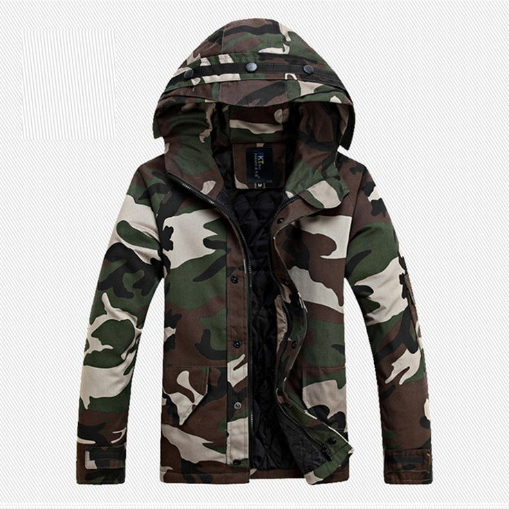 Men's Warm Hooded Jacket/Coat Top Quality