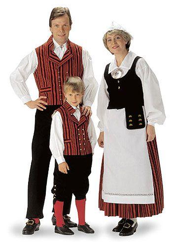Finnish national costume   Valkeala