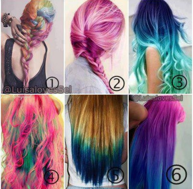 106 Best Crazy Fun Hair Colors Images On Pinterest Cabello De