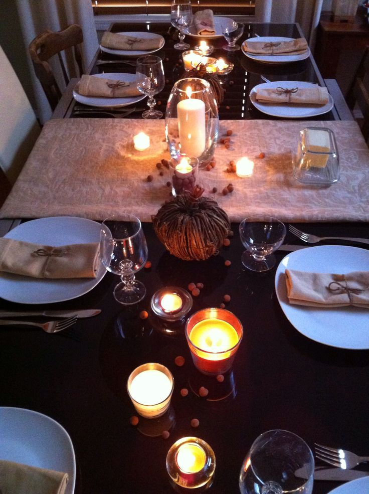 Our thanksgiving table 2013.