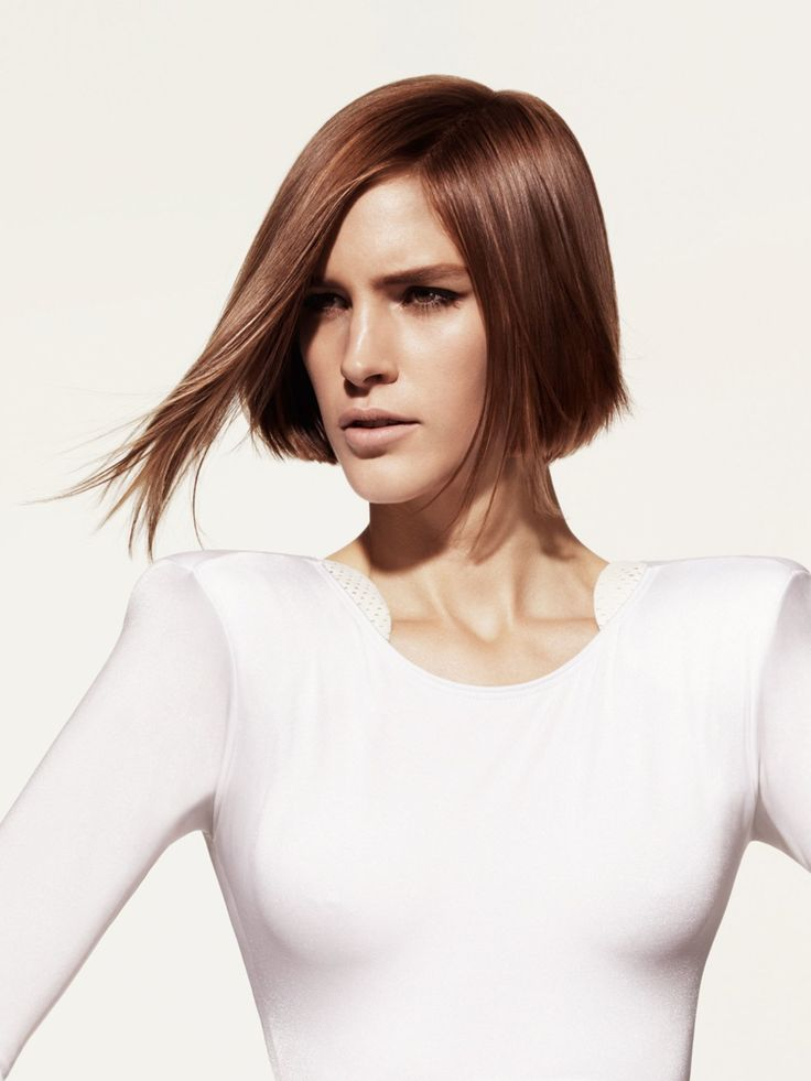 bob mit längerer frontpartie | bob frisur dünnes haar, bob