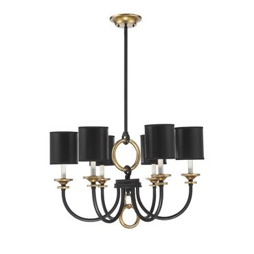 73 best lighting images on pinterest chandelier lighting this elegant savoy house parkdale chandelier features a fashion forward matte black finish that is beautifully accentuated with gold the matte black shades mozeypictures Images