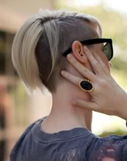 Hair Color Corner: The Undercut Is Back