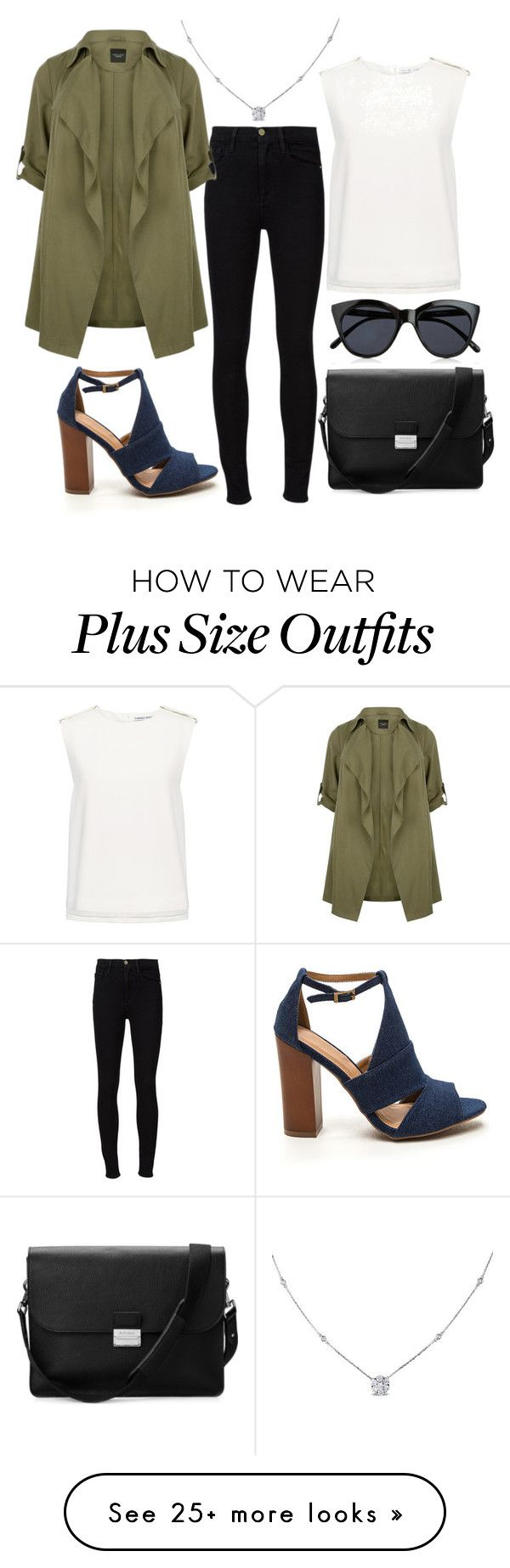 """""""Untitled #1108"""" by sky-colette on Polyvore featuring Ice, Frame Denim, Finders Keepers, Le Specs and Aspinal of London"""