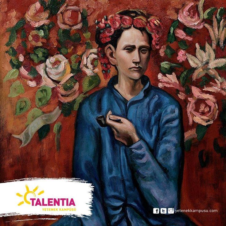 """İspanyol ressam Pablo Picasso'nun Pembe Dönemi'nin en önemli eserlerinden olan """"Pipolu Çocuk"""" adlı tablosu... #Talentia'da! #TalentiaYetenekKampüsü #Dans #Müzik #Sanat #Spor #yetenek #yetenekkampusu #eğitim #PabloPicasso #PipoluÇocuk"""