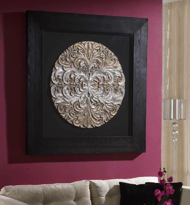 square medallion wall art - & 7 best MEDALLION WALL ART images on Pinterest | Ceiling medallions ...