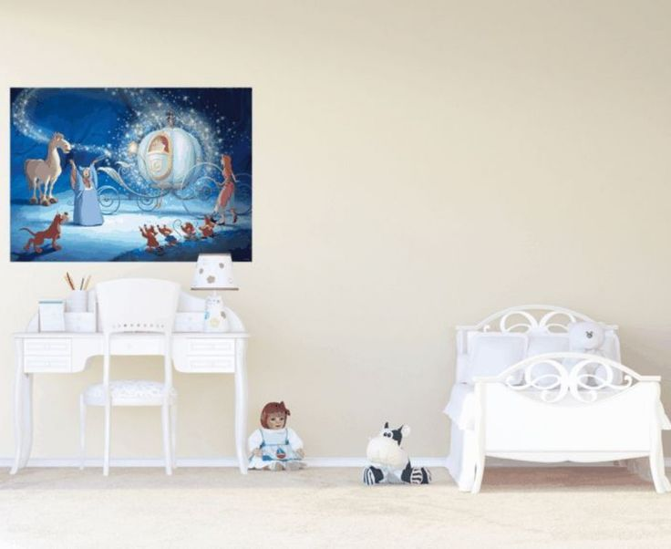 Magical Snow White Disney Wall Mural By WallandMore. Perfect For Princess  Room. Part 88