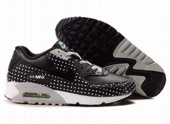 official photos a8864 90edc Nike Air Max 90 Black And White Dots extreme-hosting.co.uk