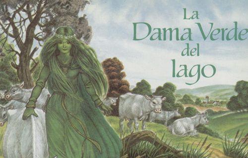 LA DAMA VERDE DEL LAGO Hace mucho tiempo, no lejos de Aberdovey, en Gales, se extendía al pie de unas colinas el Lago del Barbudo. La iglesia de Aberdovey era famosa por el dulce tañido de sus campanas, y a nadie complacía tanto ese sonido como a la hermosa Dama Verde que vivía en el …