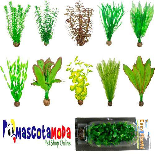 plantas artificiales para acuario decoraciones para