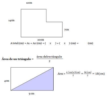 Resultado de imagen para como encontrar el area y el perimetro de una figura