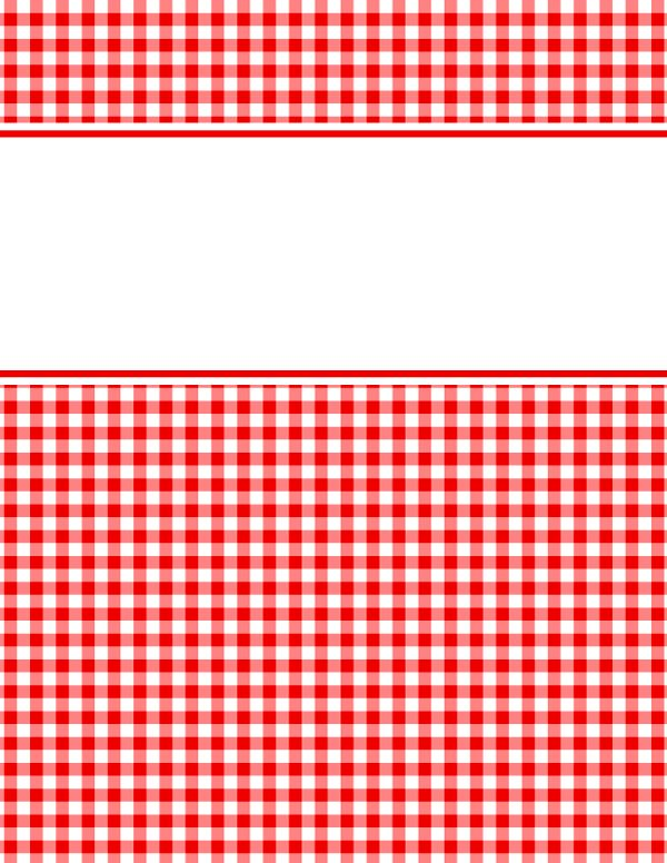 The 25 best binder cover templates ideas on pinterest binder free printable red and white gingham binder cover template download the cover in jpg or pronofoot35fo Gallery