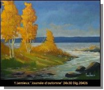 Original oil painting on canevas by Yvon Lemieux #yvonlemieux #art #artist #canadianartist #quebecartist #originalpainting #fineart #oilpainting #landscape #trees #balcondart #multiartltee
