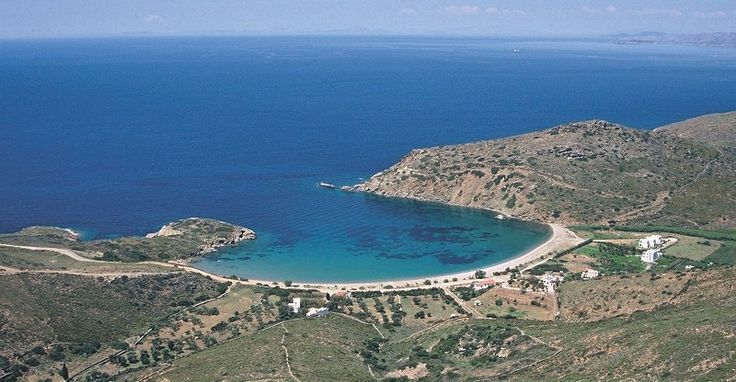 #Fellos #beach, #Andros, #Greece | #heliadesvillas | http://www.heliadesvillas.com/
