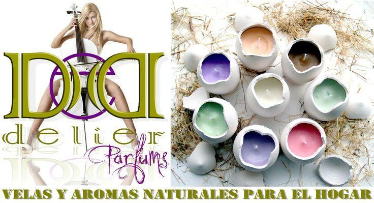 ilumina tus momentos especiales con velas, pero ecológicas y artesanas, velas de soja y vegetales delier parfums