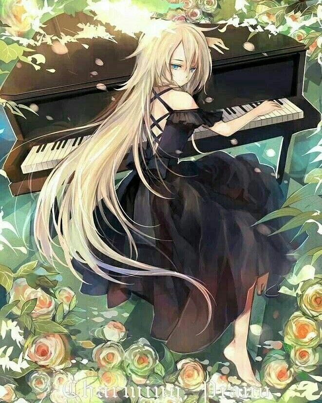 Anime Piano Girl Wallpaper Pin By Burntkawaiipotato On Anime Anime Anime Artwork