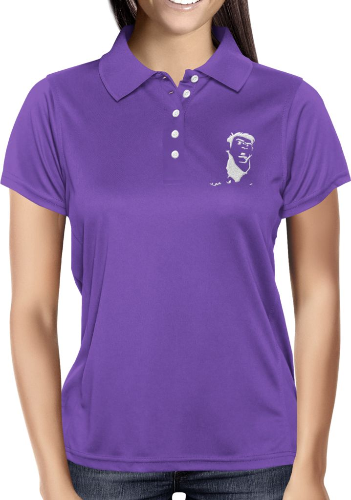 Purple Blank - Dhaporshankh Girls Polos