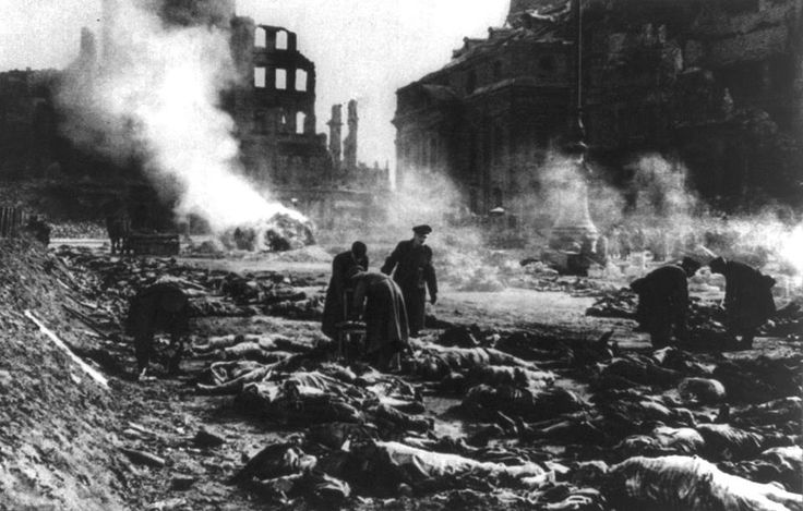After the Dresden bombings in 1945 Göbbels was furious and suggested they should execute a number of Allied prisoners equal to the number of German victims. Hitler approved of the idea but Keitel, Jodl, Dönitz and von Ribbentrop convinced him that a reprisal like this would have serious repercussions for post-war Germany.