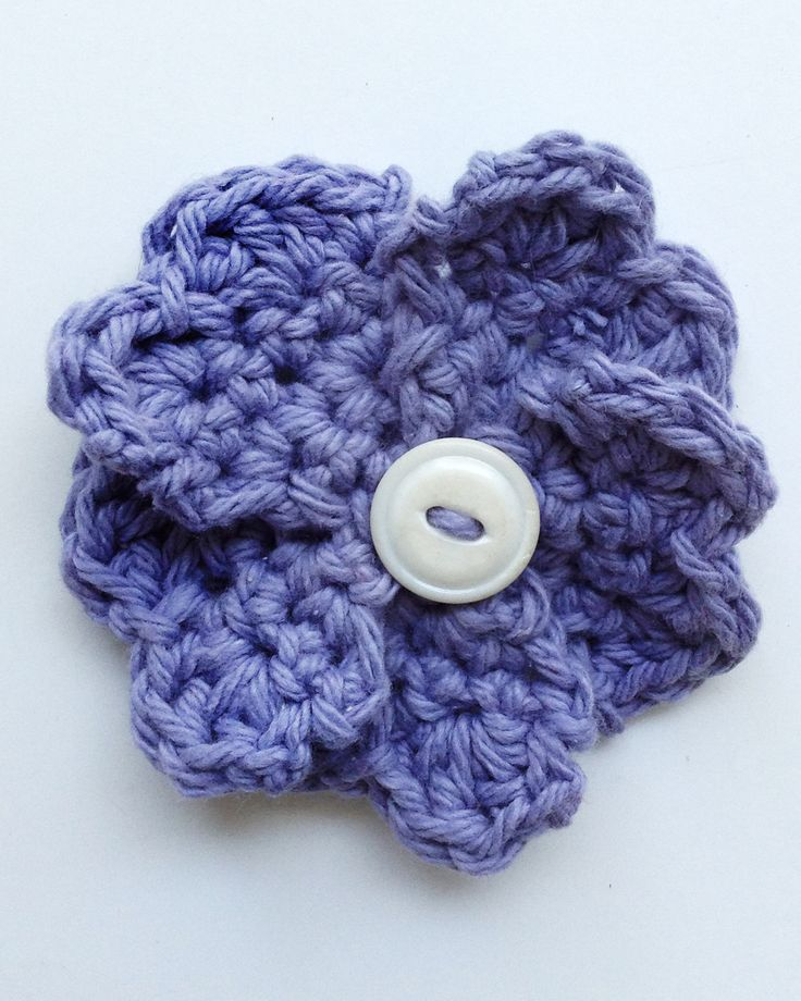 Crochet Violet Flower Pattern : Violet Free Crochet Pattern from Maggies Crochet ...