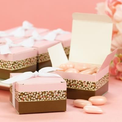 Top Ideas For Wedding Favors Boxes 2014