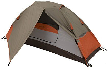 """Amazon.com : ALPS Mountaineering Lynx 1-Person Tent : Backpacking Tents : Sports & Outdoors. The Best Selling Lynx One Person Tent Provides Easy Assembly and Great Ventilation Easy One Door Entry, One Vestibule for Extra Storage, Half Mesh Walls Increase Ventilation Factory Sealed Fly and Floor Seam Provides Weather Protection Includes: 7075 Aluminum Stakes, Guy Ropes, Mesh Storage Pocket, Gear Loft Dimensions: 32x90x36"""", Total Weigh: 3.94 lbs."""