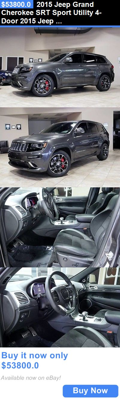 SUVs: 2015 Jeep Grand Cherokee Srt Sport Utility 4-Door 2015 Jeep Grand Cherokee Srt8 Navigation Black-Chromes Panoramic Roof Loaded BUY IT NOW ONLY: $53800.0