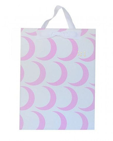 Pink Moon Fabric Magnet Board