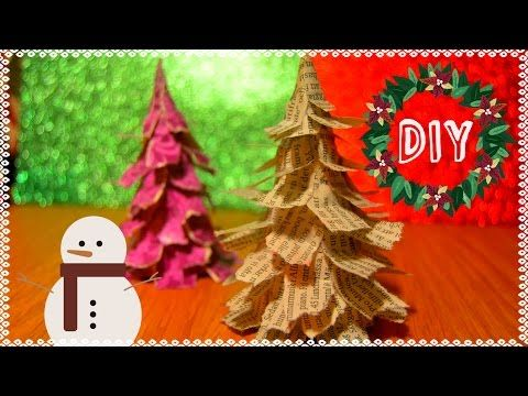 DIY Enkel julgran | Julpyssel - YouTube