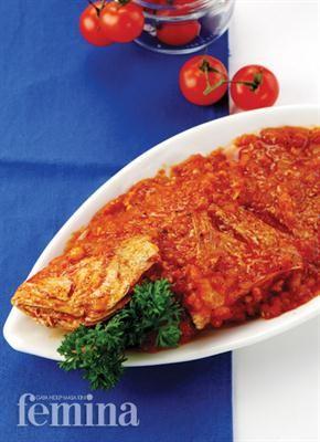 Femina.co.id: Kakap Goreng Saus Tomat #resep