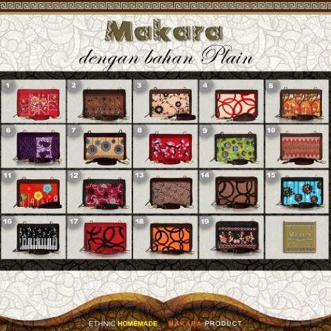 Katalog Dompet Makara Plain Midili | Asli Produsen