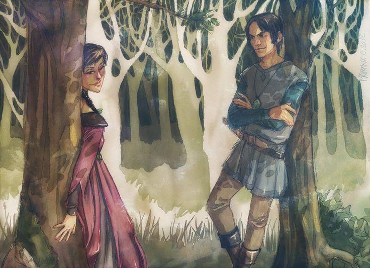 The young lady Dustin remembers Brandon Stark.     l'incoscienza dentro al basso ventre  by Martina Cecilia