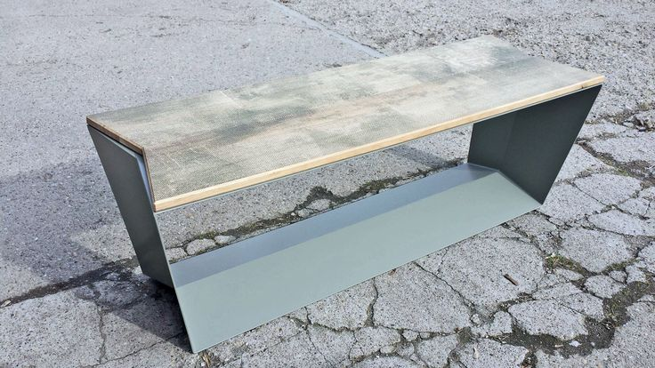 Yet another image. Our new bench from Anatolia collection, furniture with corten steel. www.kendudesign.com