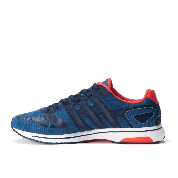 Adidas Adizero Adios Boost Limited Blue Running White Red