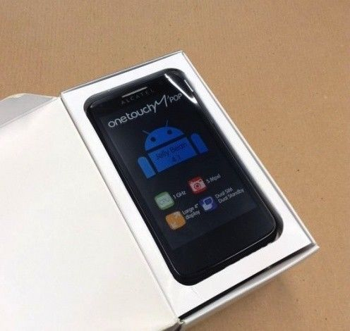 SMARTPHONE ALCATEL ONE #TOUCH M'POP 5020D CELLULARE DUAL SIM ANDROID 4.1