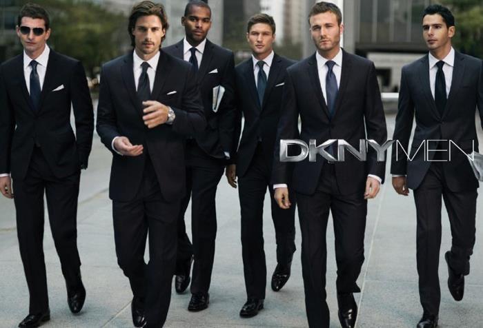 Черный костюм белая рубашка какой галстук