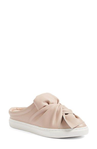 Free shipping and returns on Halogen® Manny Knotted Slip-On Sneaker (Women) at Nordstrom.com. A gorgeous leather knot adorns the vamp of a versatile slip-on sneaker with a generously cushioned footbed and a classic bumper cupsole.