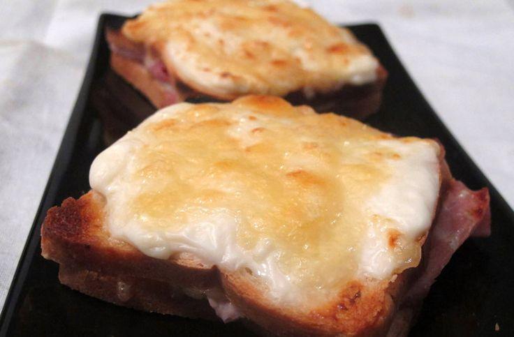 Il croque monsier è un classico Street Food francese come la nostra pizza, si trova in tutte le bakery ed è molto molto sostanzioso, ci sono moltissime versioni, c'e' chi passa...