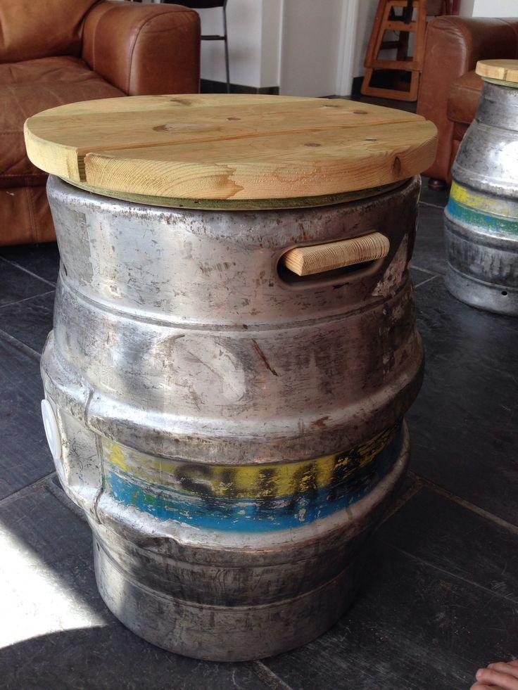 My hubs just drug 2 kegs home... ?