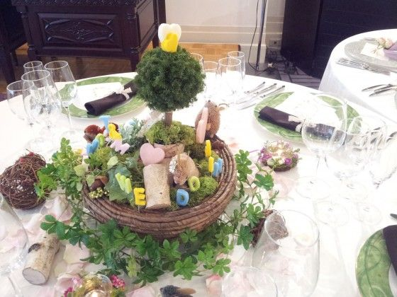 八芳園10テーブル花