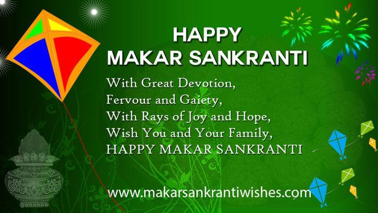Happy Makar Sankranti Greeting Messages