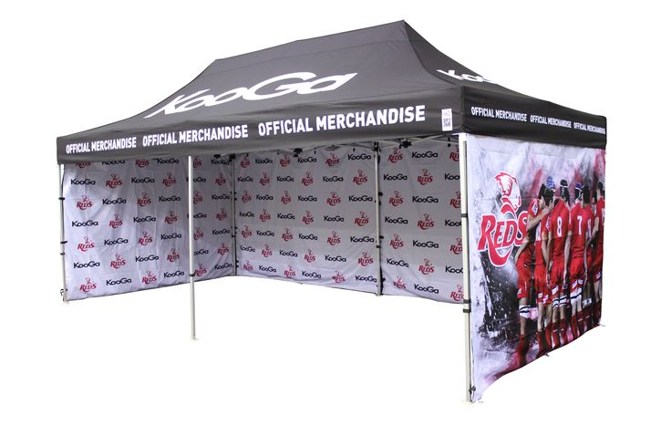 A great printed marquee by Star Outdoor promoting a sporting team with fantastic photos printed on the walls.  Visit www.staroutdoor.com.au to check out their range of printed outdoor promotional products and get printed marquees for your business.
