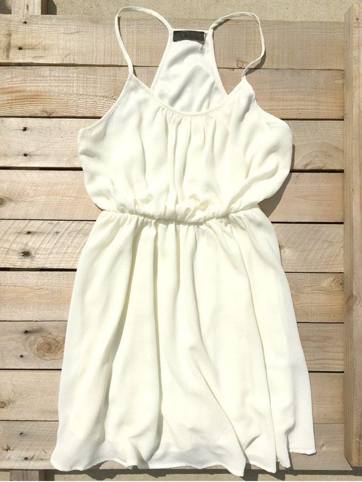Summer Pierce Dress in Ivory